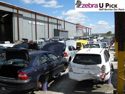 Zebra pick a parts yard